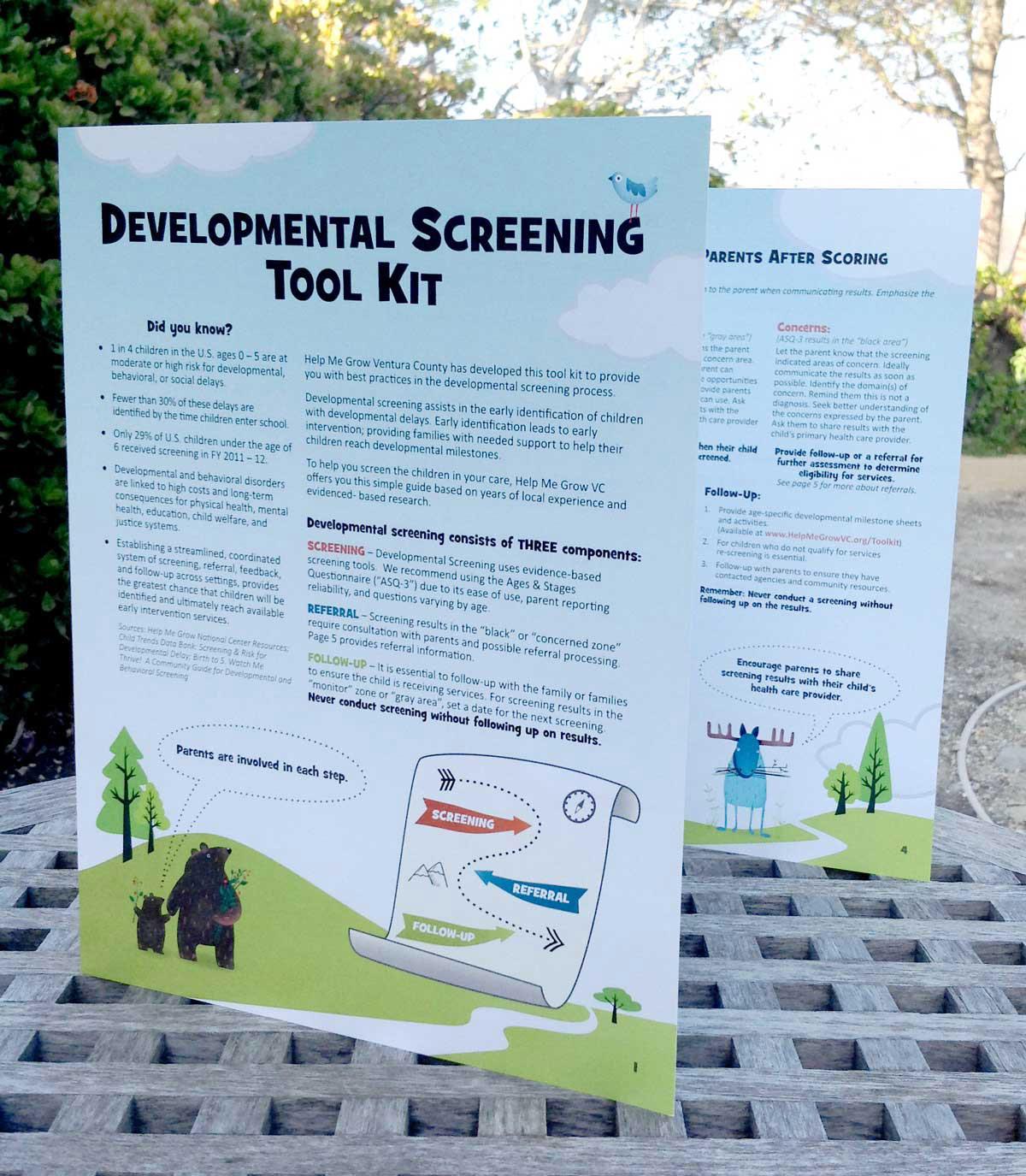 Developmental Screening Toolkit, Help Me Grow Ventura County