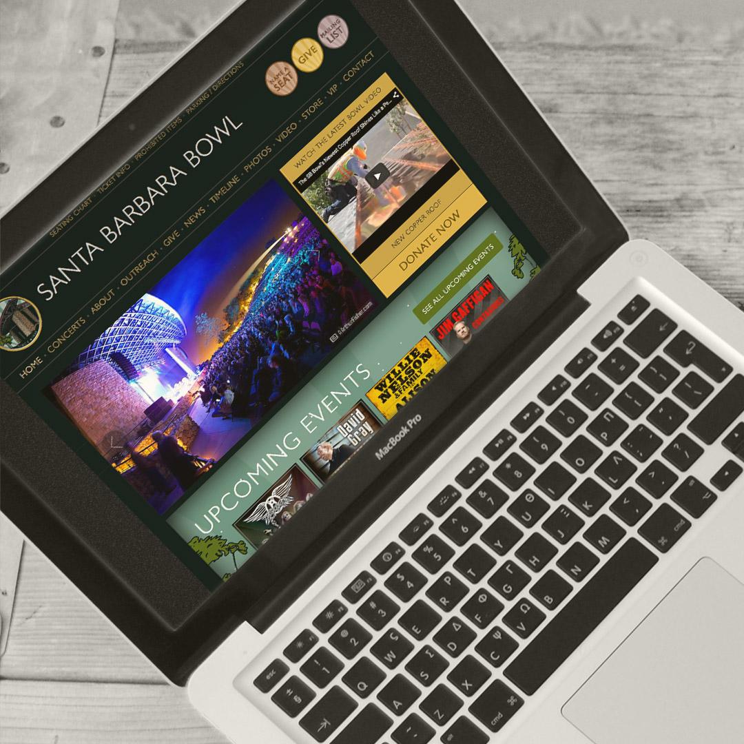 Santa Barbara Bowl Website