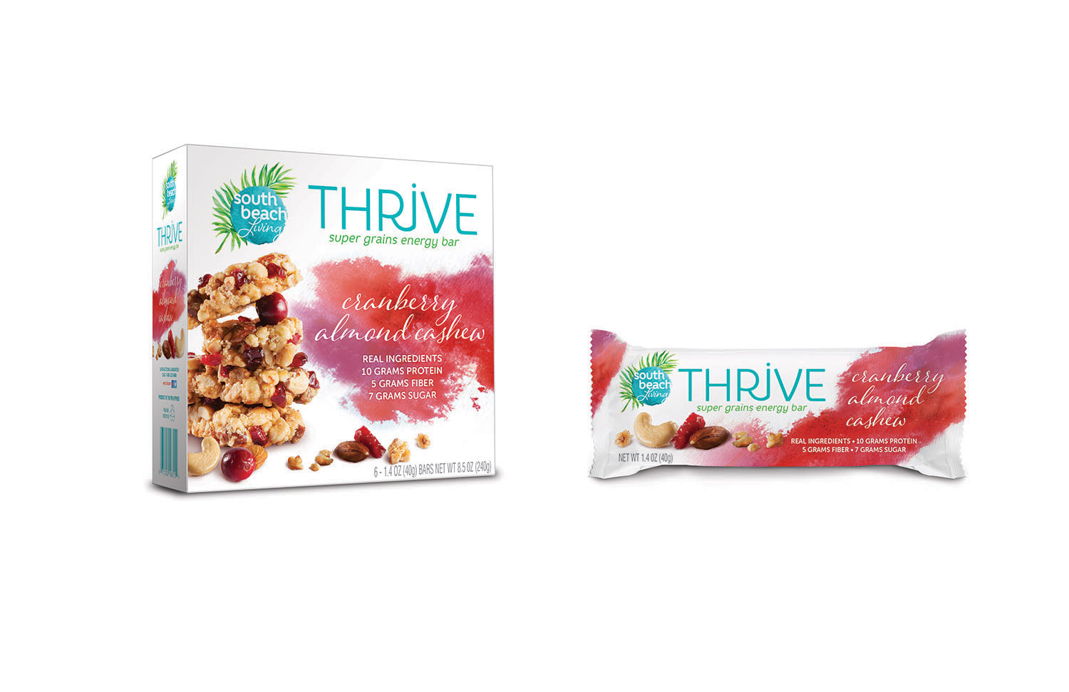 South Beach Living: Thrive Packaging Concept